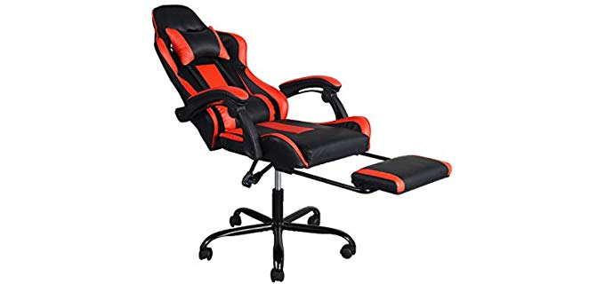 GreenForest Game Chair - Computer and Gaming Recliner Chair