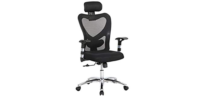 HollyHOME High Back Executive - Reclining Office Chair