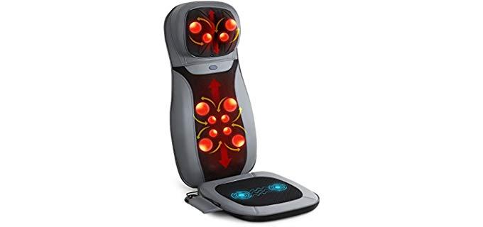 Intey Massager Machine - Massaging Chair Pad