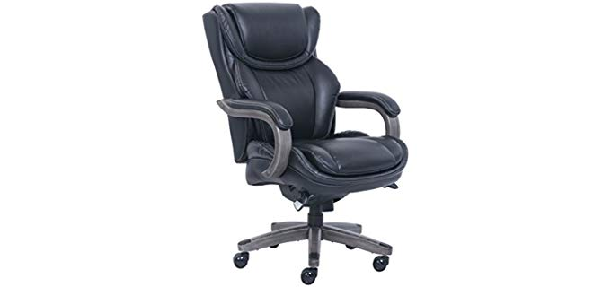 La-Z-Boy Big and Tall - Swivel and Tilting Recline Office Chair