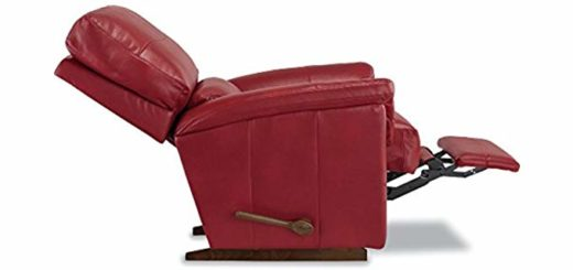 La-Z-Boy Reese Reclina-Rocker Recliner, Crimson 4 of 7