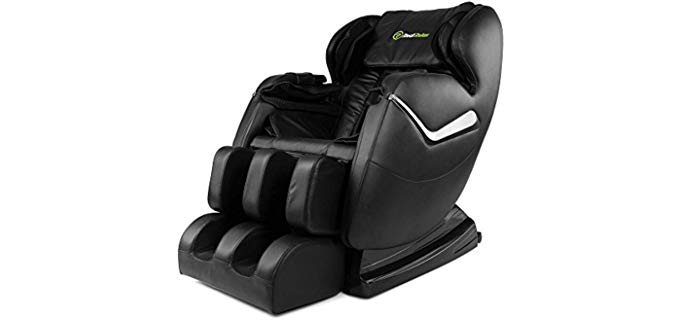 Real Relax Shiatsu Chair - Zero Gravity Recliner with Massage Function