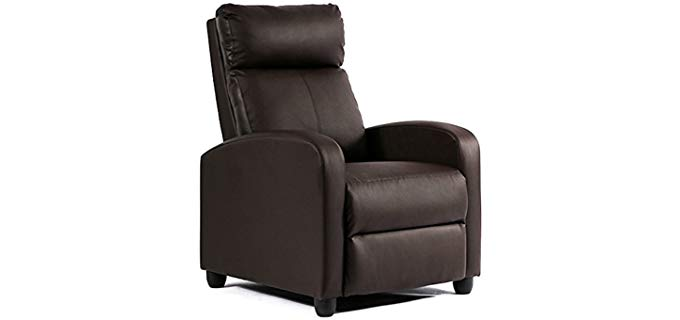 FDW Single Accent - Recliner Chair for the Bedroom