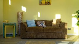 Recliner Decor and Accessories-Rustic
