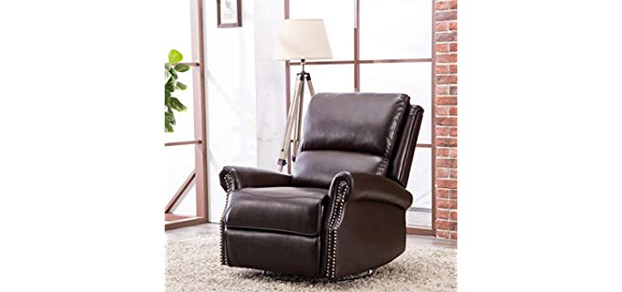 CANMOV Contemporary - Swivelling Manual recliner