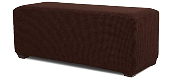 Hokway Ottoman - Oversized Ottoman Slip Cover