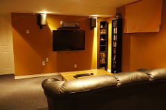 Home theater recliner 1