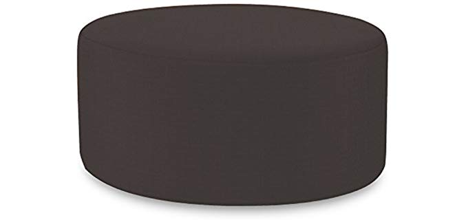 Howard Elliot QC 132-460 - Round Patio Ottoman Slip Cover