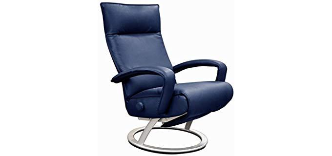 Gaga Swivel Recliner - Ergonomic Modern Leather Recliner Chair