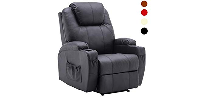 Mcombo Armchair -  Heavy Duty Manual Recliner