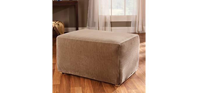 Astonishing Best Ottoman Slip Covers November 2019 Recliner Time Customarchery Wood Chair Design Ideas Customarcherynet
