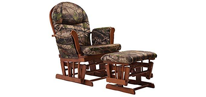 Artiva USA - Wooden Frame Rocker and Swivel Chair