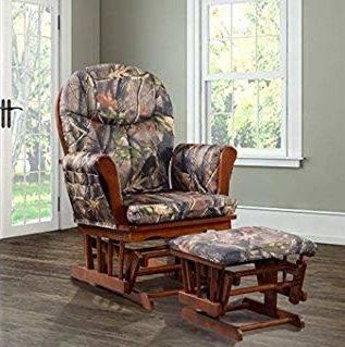 Artiva USA Wooden Frame Rocker and Swivel Chair