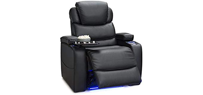 Barcalounger Columbia - Swivel Tray Laptop Table Recliner