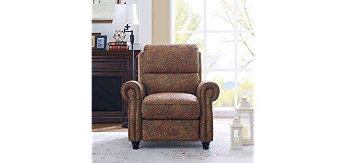 Domesis Push Back - Accent Piece Recliner