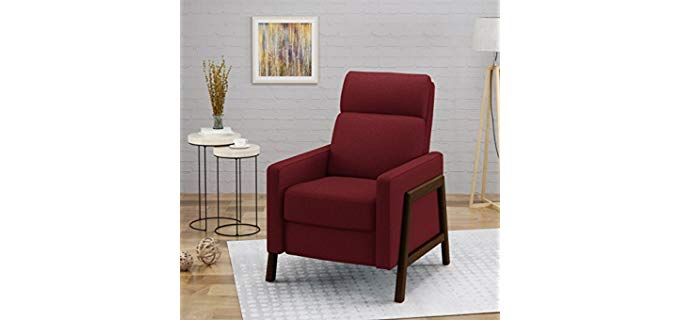 Great Deal Furniture Chris - Fabric Accent Recliner