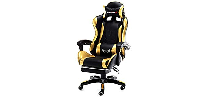 Lovepet Ergonomic - Gaming Recliner with Speakers