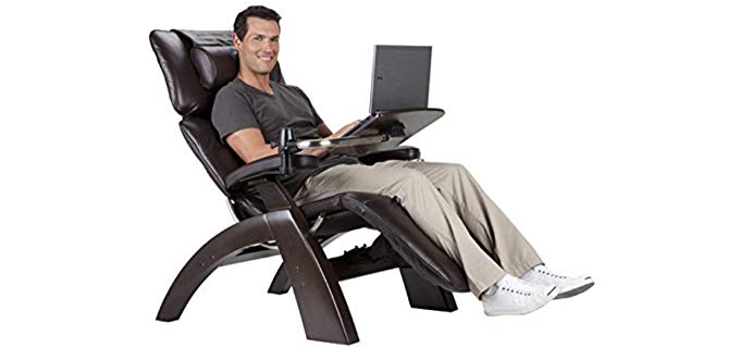 Perfect Chair Human Touch - Zero Gravity Chair with Laptop Desk