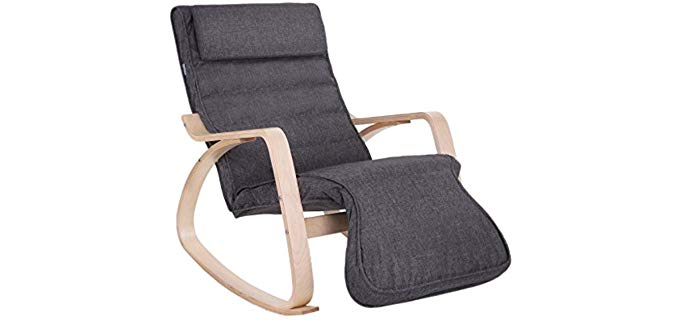 Songmics Relax - Reclining Accent Rocking Chair
