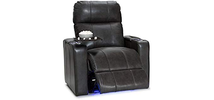 Seatcraft Monterey - Luxury Recliner with Laptop Table