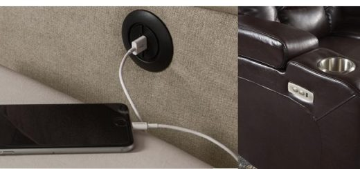 USB Port recliner Feature