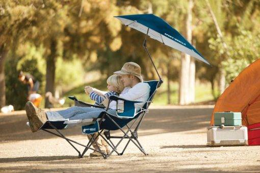 Camping Chair dad and son