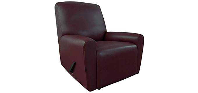Easy-Going PU Leather - Recliner Slip Cover