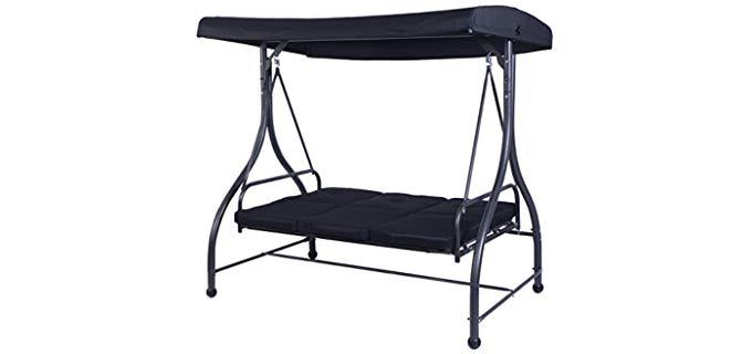 Tangkula Converting - Swing Reclining Hammock Chair