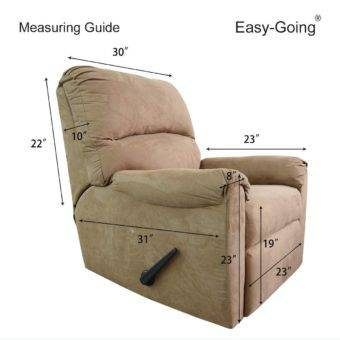 recliner Cover Measuring