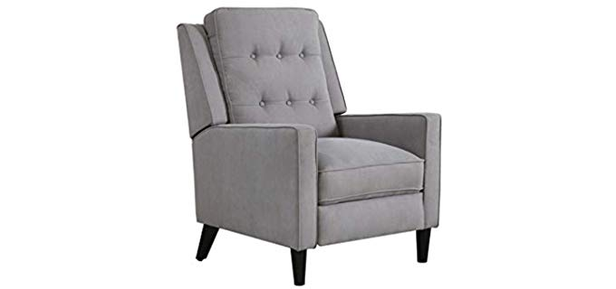 Abbyson Living Alistair - Pushback High Leg Recliner