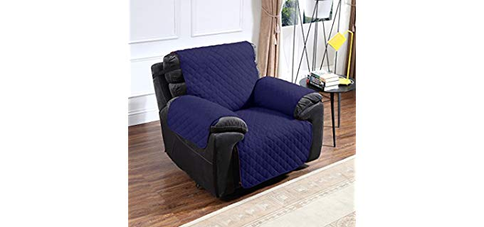 Argstar Reversible - Recliner Cover with Side Pockets