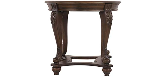 Ashley Furniture Traditional - Norcastle Style End Table for Your Recliner