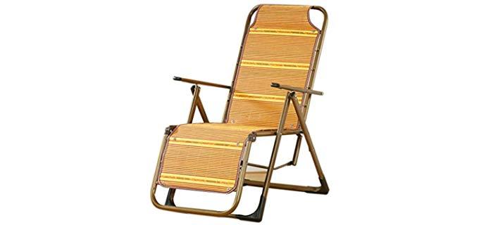 BRNEBN Folding Chair - Bamboo Reclining Chair