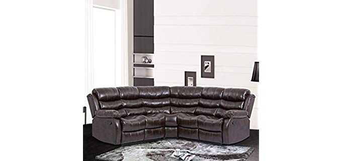 Best Massage Home Living Room - Sectional Sofa Recliner