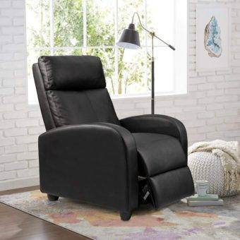 Cheap recliner PU Leather