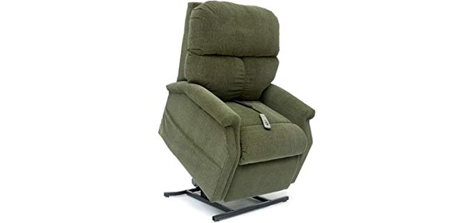 Pride Mobility Classic - Cloud Nine Fabric Home Medical Recliner