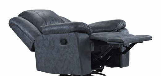 Cleaning leather recliner feature