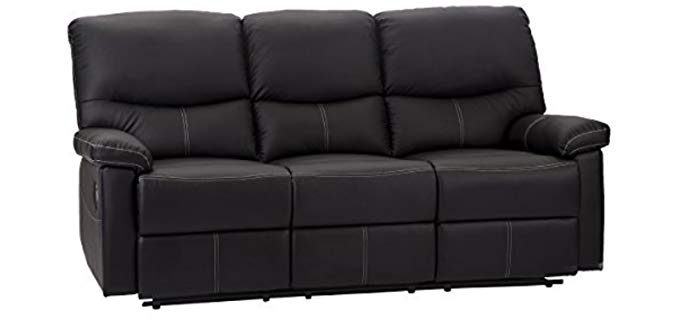 FDW Set - Sectional Recliner Sofa