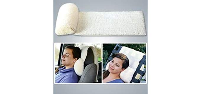 MTR Home Products Neck Roll - Head Rest Pillow