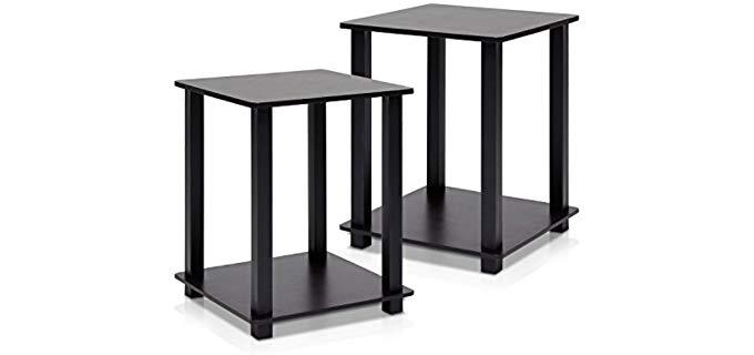 Furinno BK - Simplistic Modern Style End Table