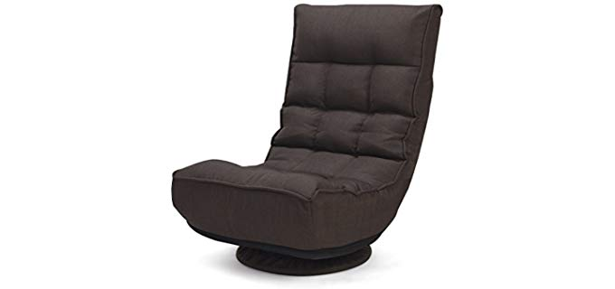 Giantex Swivel - Floor Seat Recliner