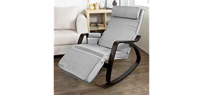 Haotian Comfortable - Rocking and Reclining Chair