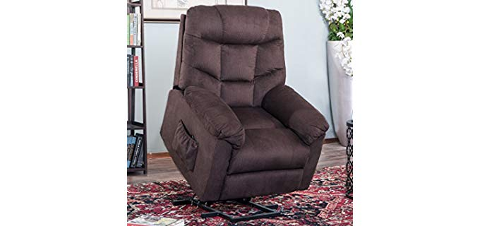 Harper & Bright Designs - Powerlift Microfiber Recliner