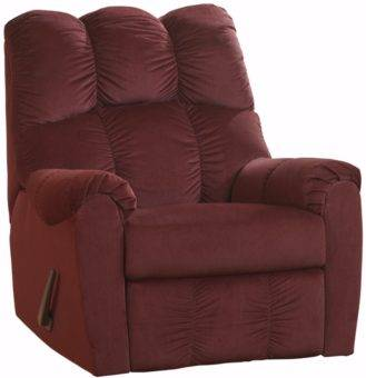 High back recliner MANUAL