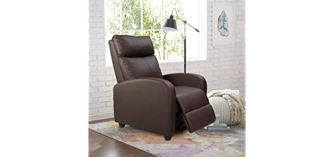 Homall Single - PU Leather Single Recline Chair