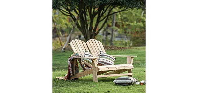 Fresh Zone Home Outdoor - Fir Wood Recliner