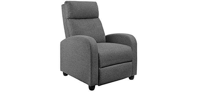 JUMMICO Home Theatre - Fabric Recliner