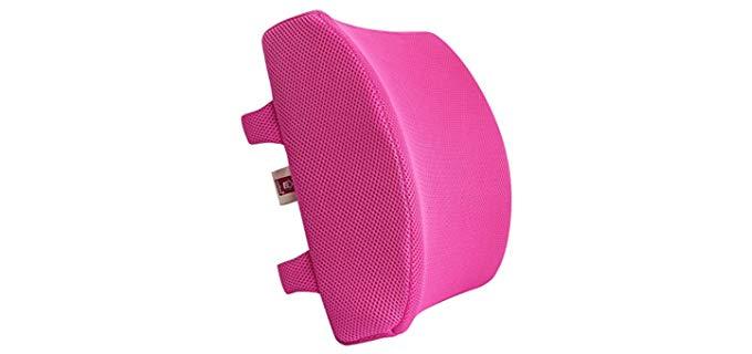 LoveHome Memory Foam - Lumbar Support recliner Pillow