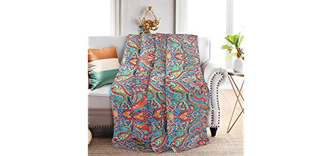 Newlake Quilted - recliner Blanket and Cover