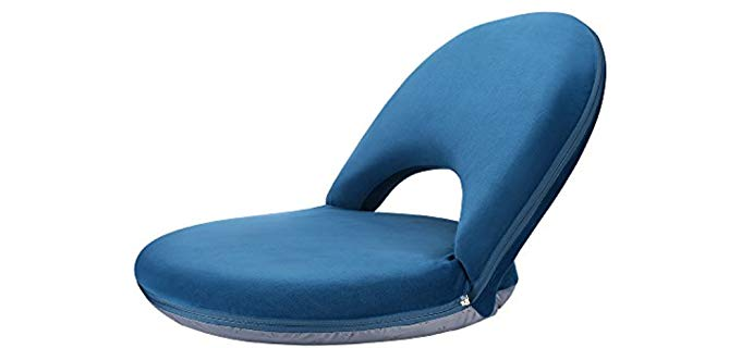 Nnewvante Adjustable - Reclining Floor Chair